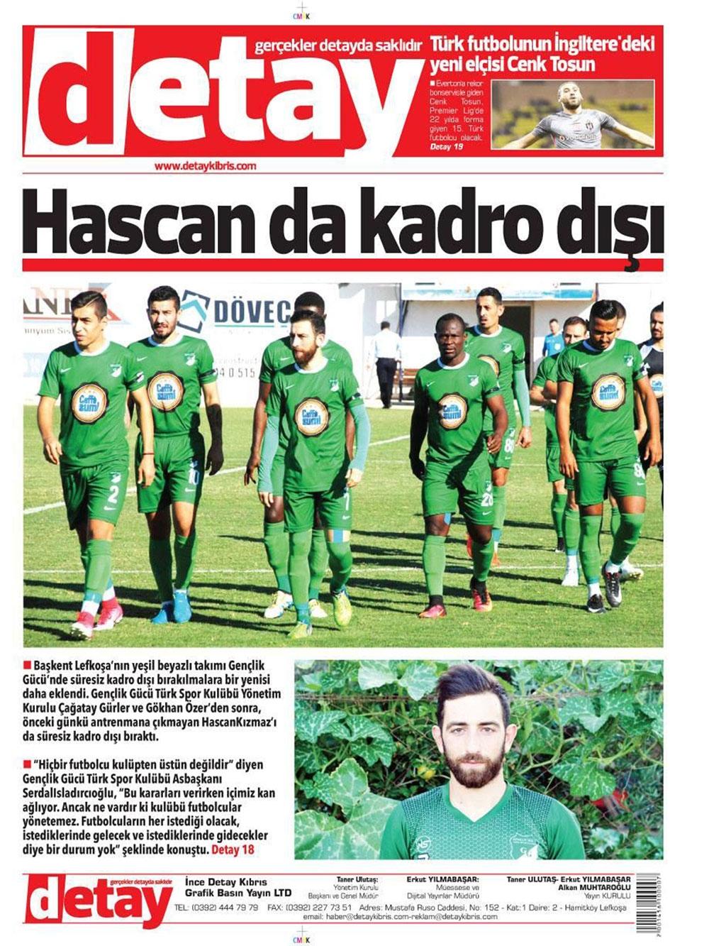 Spor basınında bugün... (8 Ocak 2018) 8