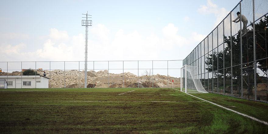 Karaoğlanoğlu Stadı hazır