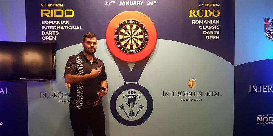 Dartsçılar Romanya'da oynadı