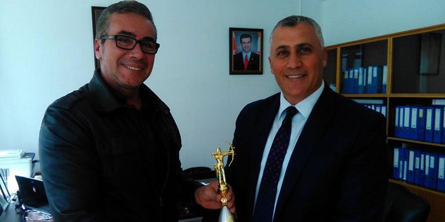 Vedat Erbay, Amcaoğlu'nu ziyaret etti