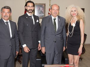 """""""Kıbrıslı Türkleri temsil etmekten gurur duyuyorum"""""""