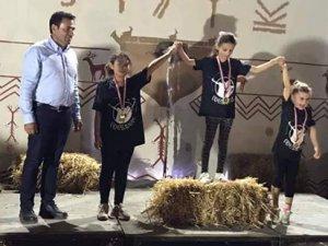 Okçular Çatalköy'de yarıştı