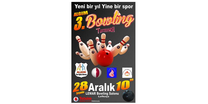 Algım 3. Bowling Turnuvası yapılacak