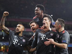 Bayern ve Real Madrid Çeyrek Finalde