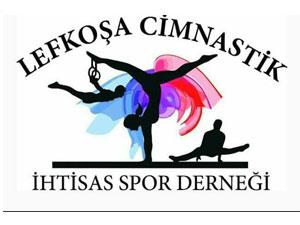 Lefkoşa'da cimnastik sevinci
