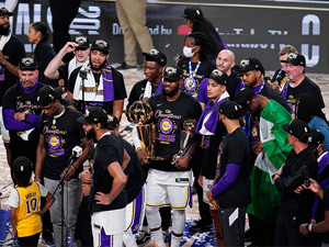 NBA'de şampiyon Los Angeles Lakers