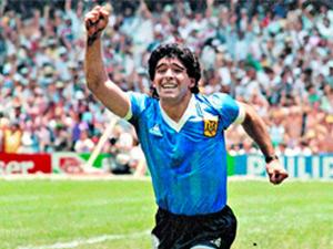 """""""Maradona Tanrı'nın Ellerinde"""""""
