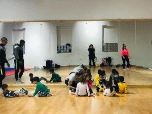 Lefke'de cimnastik günü