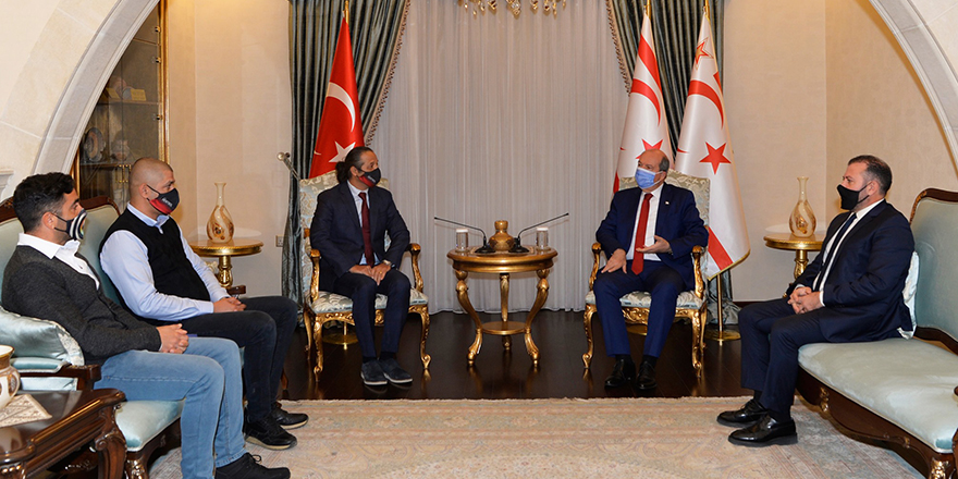 Cumhurbaşkanı Tatar, Hentbol Federasyonu ile görüştü