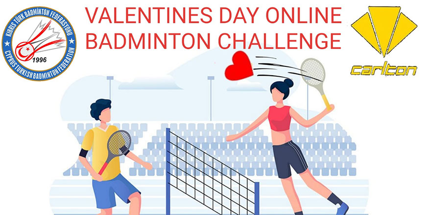 Badmintonda sevgililer günü yarışması