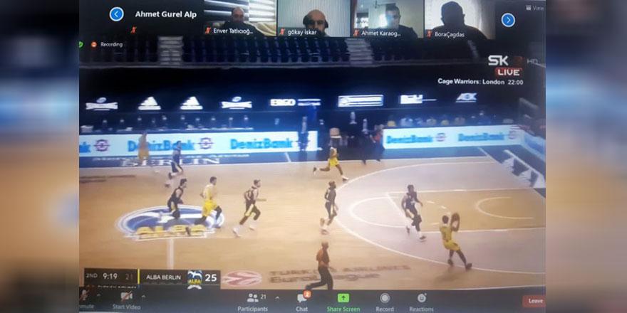 Basketbolda online seminer tamamlandı