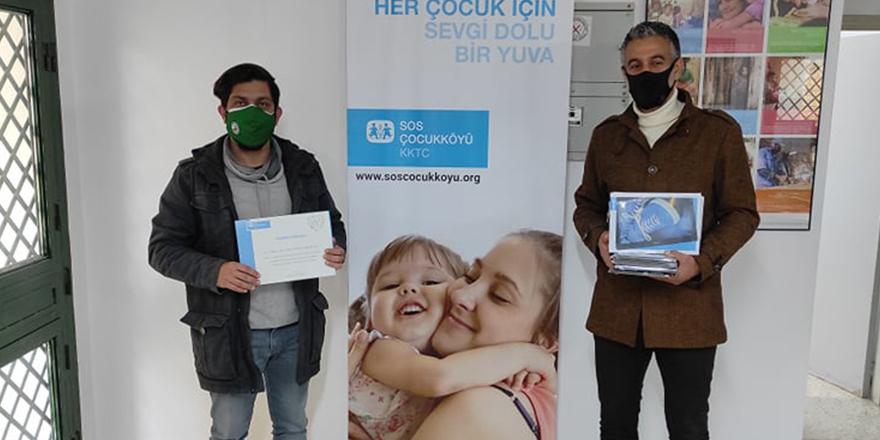 KTSYD'den SOS Çocukköyü'ne eğitim amaçlı destek