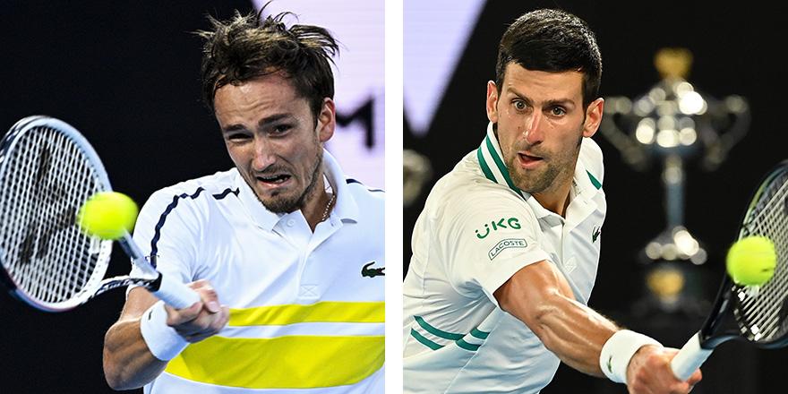 Avustralya'da Djokovic – Medvedev finali