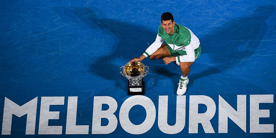 Avustralya'da zafer Djokovic'in