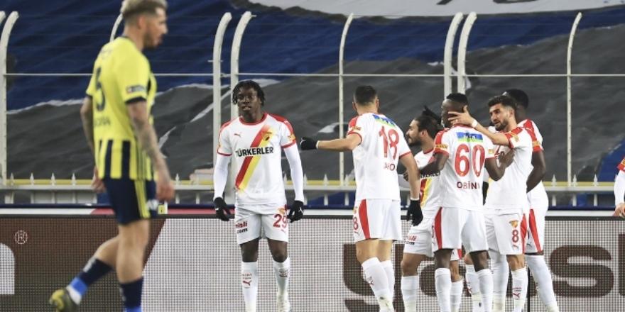 Fenerbahçe'ye Göztepe şoku: 0-1