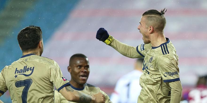Fenerbahçe'den kritik galibiyet: 0-1