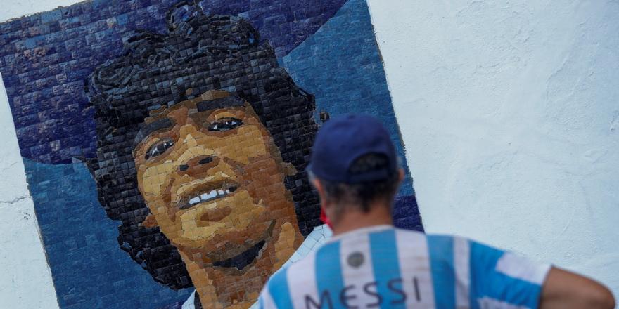 Maradona'nın anısı yaşatılıyor