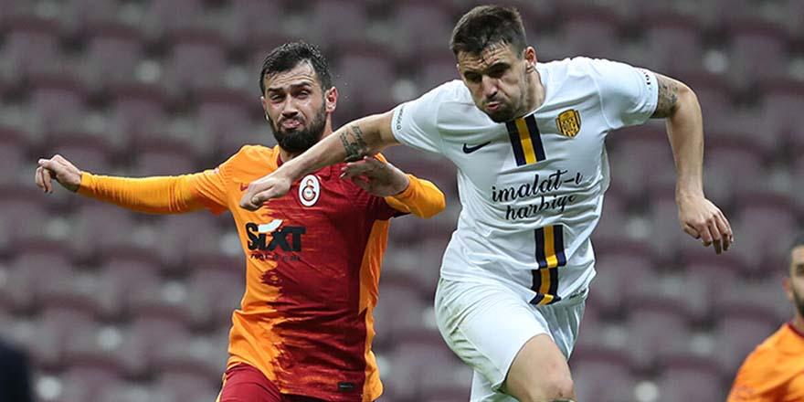 Galatasaray Ankara deplasmanında