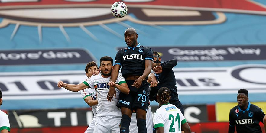 Trabzon'da kazanan Alanya: 1-3
