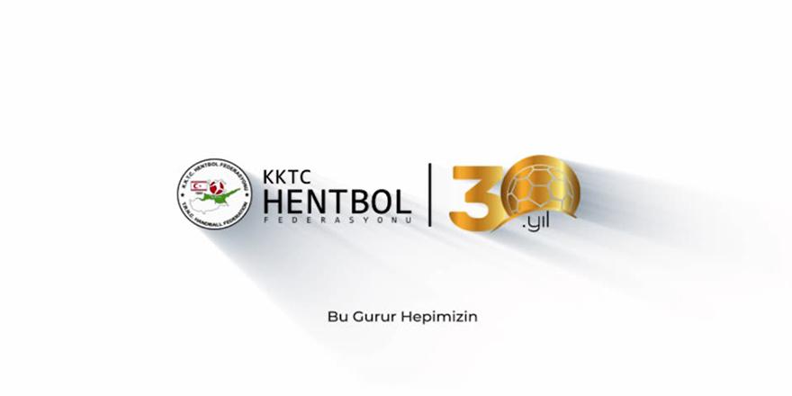Hentbol Federasyonu 30. yılını kutluyor