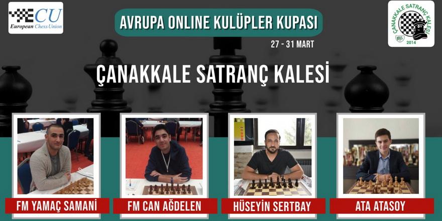 Çanakkale Avrupa'da online mücadele edecek
