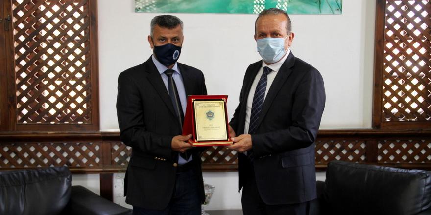 MSA faaliyetlerini Ataoğlu'na anlattı