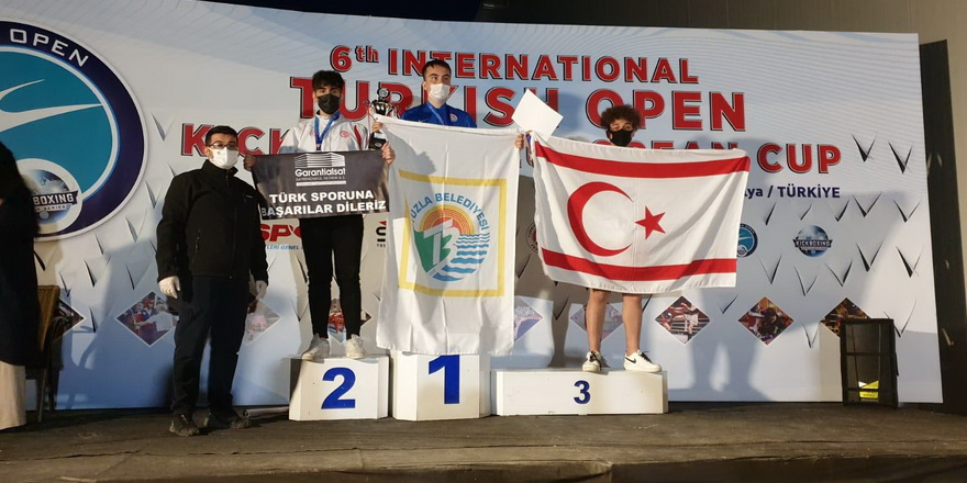 Antalya'da bronz madalya
