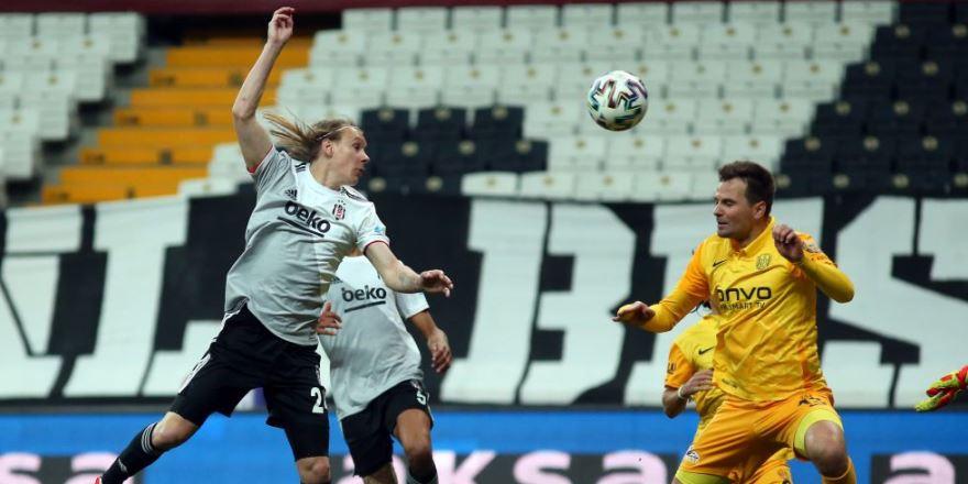 İlginç maçta Beşiktaş takıldı: 2-2