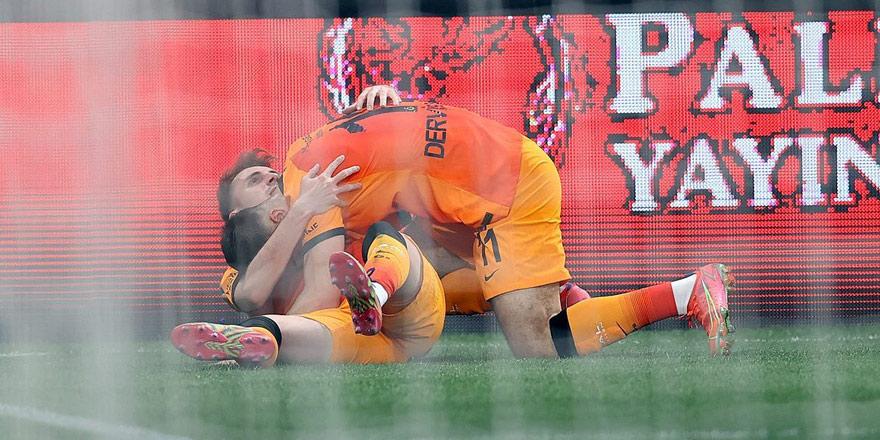 Galatasaray, 'ben de varım' dedi: 1-3