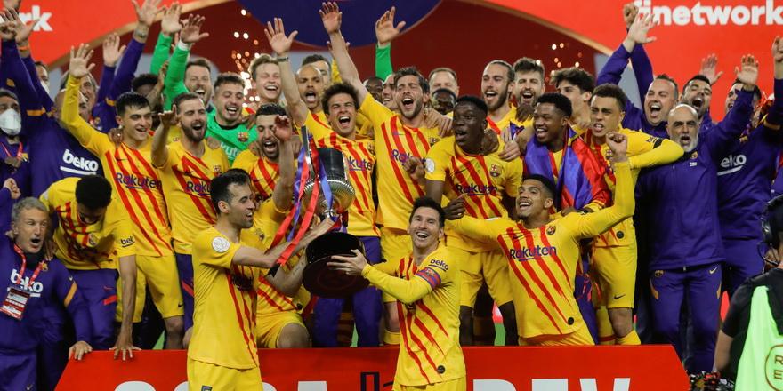 Kral Kupası finalinde Barcelona farkı