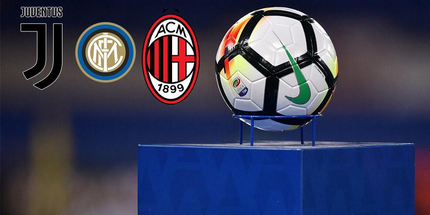 Üç büyük kulüp Serie A'da da devam etmek istiyor