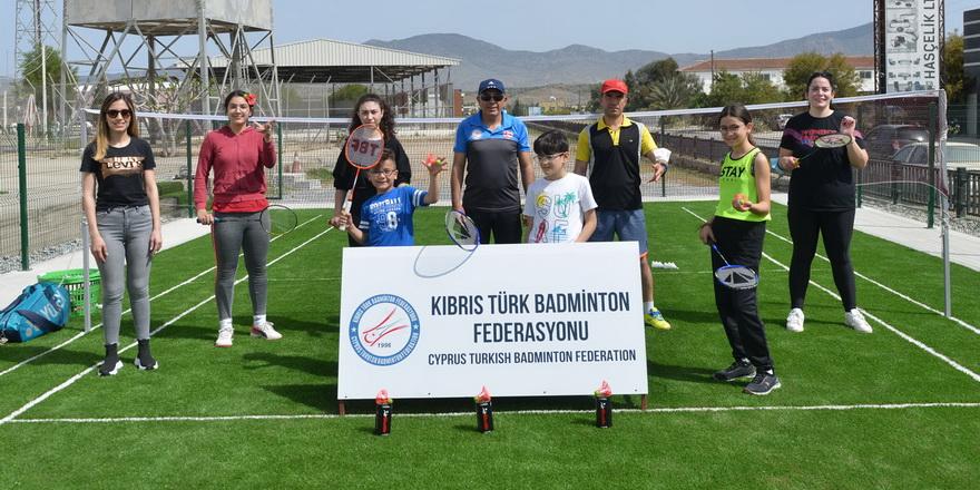 Air Badminton'da ilk antrenman yapıldı