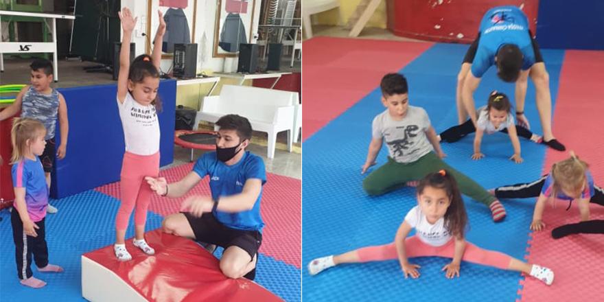 Vadili'de cimnastik faaliyetleri başladı