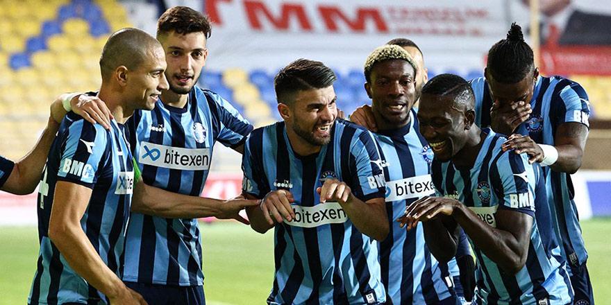 1. Lig'de şampiyon Adana Demirspor...