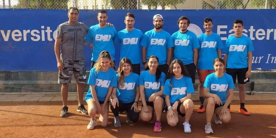 Teniste lig mücadelesi başladı