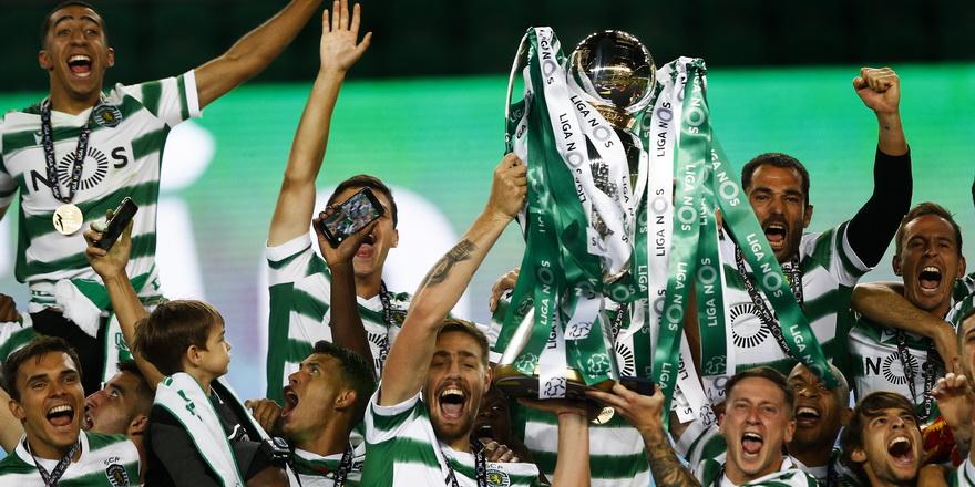 Sporting Lisbon 19 yıl sonra şampiyon
