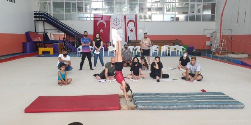 Cimnastikte hakem semineri tamamlandı