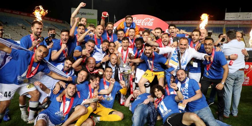 Kıbrıs Kupası Anorthosis'in
