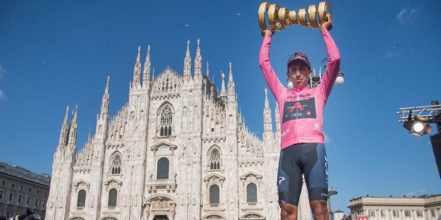 İtalya Bisiklet Turu'nda şampiyon Bernal