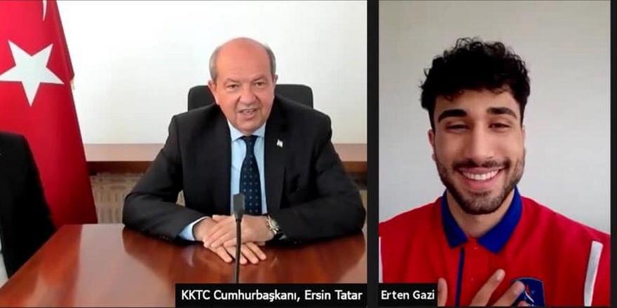 Cumhurbaşkanı Tatar'dan Erten'e tebrik