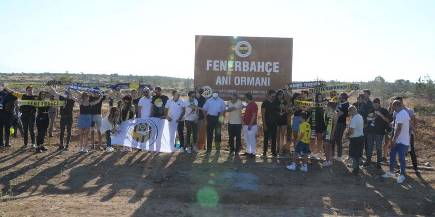 Fenerbahçe Anı Ormanı'na 4 bin fidan dikildi