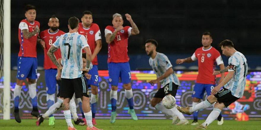 Messi'nin golü Arjantin'e yetmedi