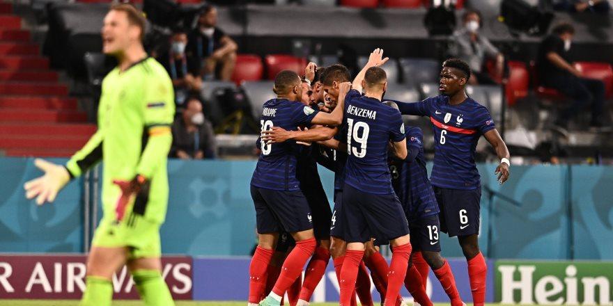 Dev maç Fransa'nın