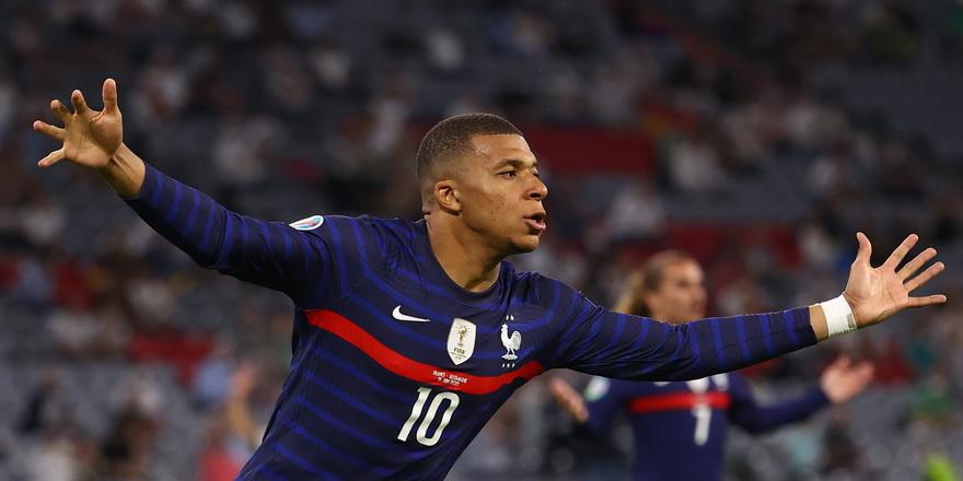 EURO 2020'nin en değerlisi Mbappe