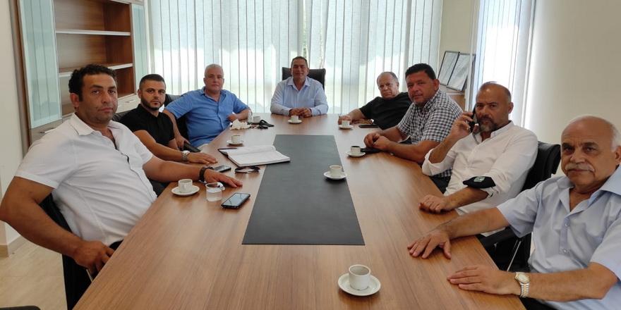 Kulüpler Birliği'nde görev dağılımı yapıldı