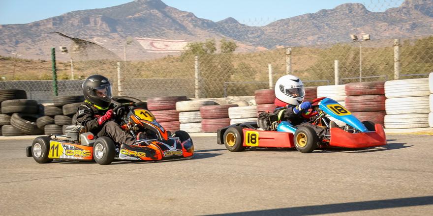 Üç kategoride 19 yarışçı katıldı