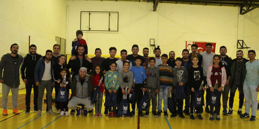 Lefkoşa Badminton Kulübü'nden Basketbol Federasyonu'nateşekkür