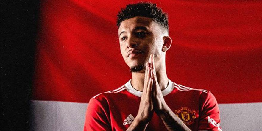 Jadon Sancho resmen Manchester United'da