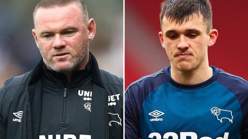 Rooney oyuncusunu sakatladı