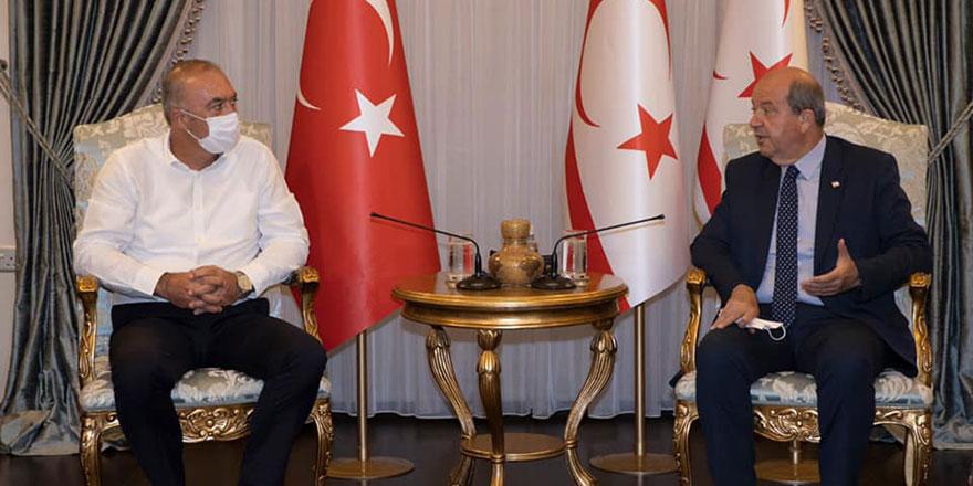 Sertoğlu ile Tatar dış temas konusunda görüştü